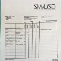 8th Grade 1st semester Report